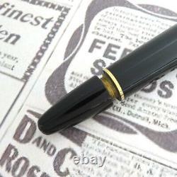 Montblanc Meisterstuck # 146 Black Nib bicolor Gold 14K/F Fountain Pen