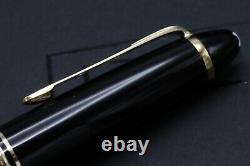 Montblanc Meisterstuck 146 Gold Line Fountain Pen 1970s OBB Nib