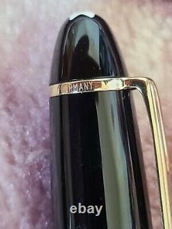 Montblanc Meisterstuck 146 Legrand, 14K B Gold Nib Excellent Condition-Vintage