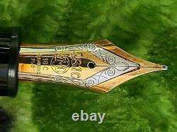 Montblanc Meisterstuck 149 Diplomat M Gold Nib Fountain Pens Nice Condition