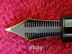 Montblanc Meisterstuck 149 Diplomata Gold 18C, M, Nib Fountain Pen Ex Conditio