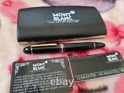 Montblanc Meisterstuck 149 Diplomata Gold Two tone, 14K Nib M Fountain Pen very