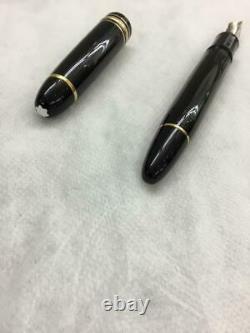 Montblanc Meisterstuck 149 Fountain Pen 14k Gold Nib F/s