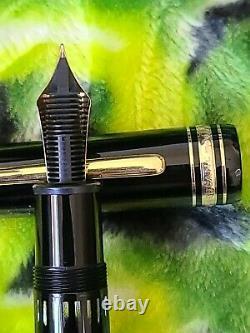 Montblanc Meisterstuck 149 Gold 18K Nib M Fountain Pen Nice Condition