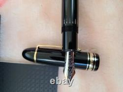 Montblanc Meisterstuck 149 Gold Two tone 14K Nib F Fountain Pen