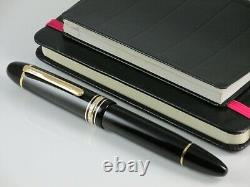 Montblanc Meisterstuck 149 Le Grand Fountain Pen Nib Gold 18 Kt Two Tone