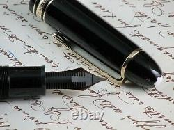 Montblanc Meisterstuck 149 Legrand Fountain Pen Nib Gold 14 Kt Two Tone + Box