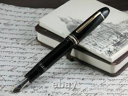 Montblanc Meisterstuck 149 Legrand Fountain Pen Nib Gold 18 Kt Two Tone