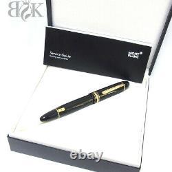 Montblanc Meisterstuck # 149 Nib Gold 18K/F Fountain Pen NEW