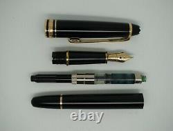 Montblanc Meisterstuck 14k Gold Black 4810 Fountain Pen Germany