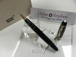 Montblanc Meisterstuck 162 Legrand gold line rollerball pen