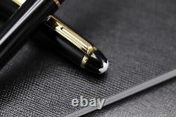 Montblanc Meisterstuck 163 Classique Gold Line Rollerball Pen NEW March 2021