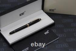 Montblanc Meisterstuck 163 Classique Red Gold Rollerball Pen NEW March 2021