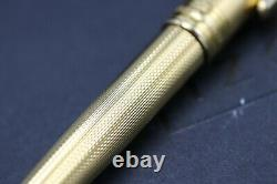 Montblanc Meisterstuck 165 Classique Barley Gold-Plated Mechanical Pencil