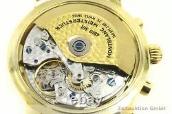 Montblanc Meisterstück 18K (0,750) Gold Chronograph Automatik Herrenuhr Ref 7000