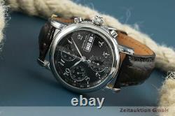 Montblanc Meisterstück 4810 Chronograph Automatik Edelstahl Herrenuhr Ref. 7016