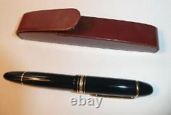 Montblanc Meisterstuck 4810 Fountain Pen 18k Gold 750 GENUINE