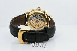 Montblanc Meisterstuck 7000 Yellow Gold Case Black Dial 38 MM