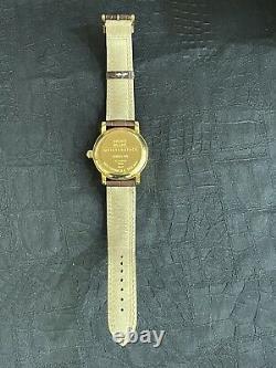 Montblanc Meisterstuck 7003 Star Power Reserve De Marche Silver Dial 36mm Watch