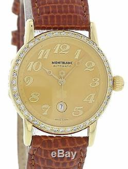 Montblanc Meisterstuck 7009 18k Yellow Gold