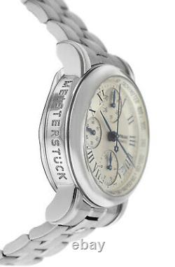Montblanc Meisterstuck 7016 Chronograph Automatic 38MM Stainless Steel Watch