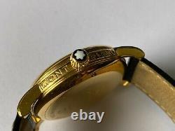 Montblanc Meisterstuck 7042 Automatic Gold Watch PIX