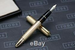 Montblanc Meisterstuck 744 Rolled Gold Barley Fountain Pen 1951-56