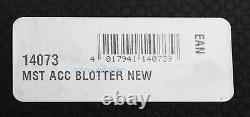 Montblanc Meisterstuck Acrylic Crystal Blotter With Paper Gold Plated 14073 New