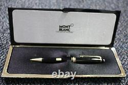 Montblanc Meisterstuck Black & Gold 0.7mm Pencil New In Box 165