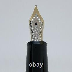 Montblanc Meisterstuck Chopin 145 Gold Plated Fountain Pen 14K Gold Nib / NEW