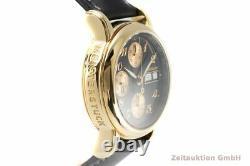 Montblanc Meisterstück Chronograph 18K Gold Automatik Herrenuhr Ref. 7000