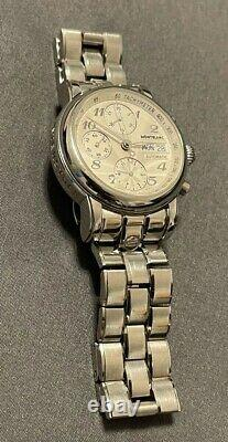 Montblanc Meisterstuck Chronograph Stainless Steel 32mm Automatic, No Box/Papers