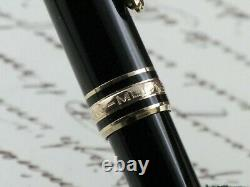 Montblanc Meisterstuck Classique 144 Fountain Pen Nib Gold 14kt Two Tone