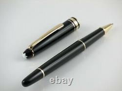 Montblanc Meisterstuck Classique 163 Gold Line Rollerball Pen Vintage