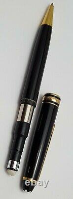 Montblanc Meisterstuck Classique 165 Mechanical Pencil 0.5mm Black & Gold- Nice