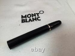 Montblanc Meisterstuck Classique Rollerball 163 12890 Lower Barrel Black/Gold