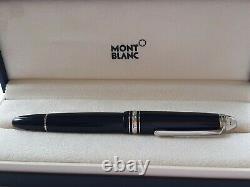 Montblanc Meisterstuck Diamond Le Grand Fountain Pen Gold Nib 14k Made Germany