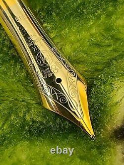 Montblanc Meisterstuck Diplomat 149 Fountain Pen Nib for Part. Ex Condition