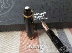 Montblanc Meisterstuck Gold LeGrand 146 fountain pen estilográfica