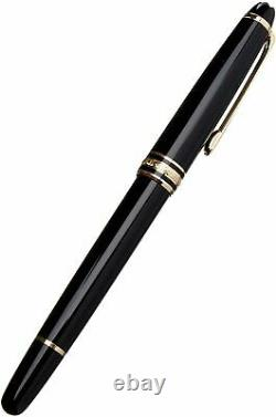Montblanc Meisterstuck Gold-Plated Rollerball Pen Authentic NEW 12890