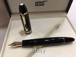 Montblanc Meisterstuck Gold-coated Fountain Pen 149 (bb) Nib New In Box