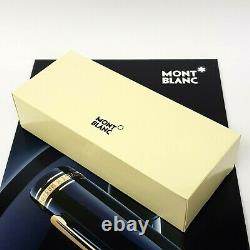 Montblanc Meisterstuck Large Gold Rollerball Pen & Gift Box
