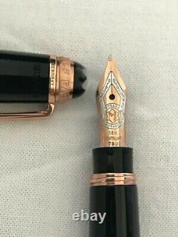 Montblanc Meisterstuck Mozart 114 FP, 75th Anniversary LE 1924 Rose Gold Details