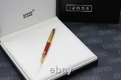 Montblanc Meisterstuck Mozart Coral-Red Gold-Plated Fountain Pen UNUSED