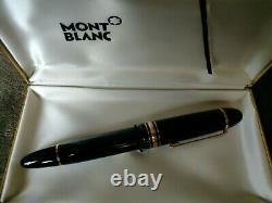 Montblanc Meisterstuck No. 149 18K Gold Nib Fountain Pen