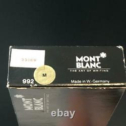 Montblanc Meisterstuck No149 Fountain Pen 4810 14k Original Box E4270