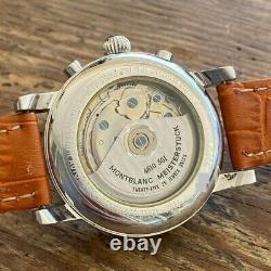 Montblanc Meisterstuck Ref. 7016 Chronograph Men's Watch 100% Genuine