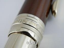 Montblanc Meisterstuck Solitaire Citrine Gold Plated Ballpoint Pen with Box