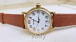 Montblanc Meisterstuck Star 7002 Gold Plated 35mm Quartz Mens Watch