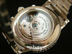 Montblanc Meisterstuck Star Chronograph 7016 Automatic Steel Calendar Men's 38mm